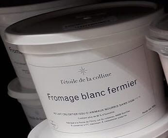 Fromage blanc nature 500g