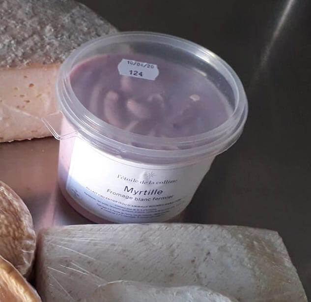 Fromage blanc Myrtille 500g