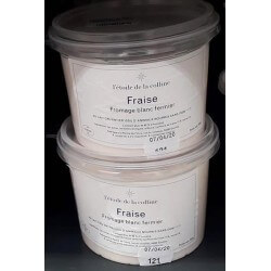 Fromage blanc Fraise 500g