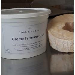 Crème fermière crue
