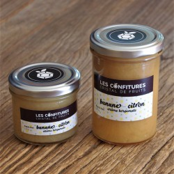 Confiture Bananes Citron arôme Bergamote