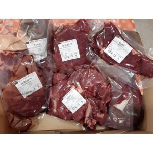 Colis de viande de boeuf Limousine Bio. Disponible la semaine du 11 Mai