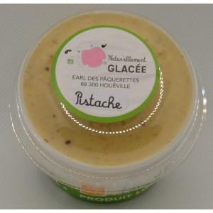 Crème glacée Pistache Bio. 140ml et 500ml