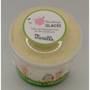 Crème glacée Vanille Bio