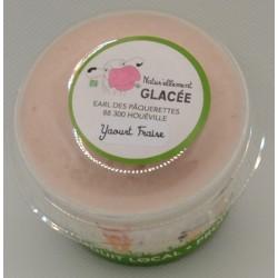 Glace au yaourt Fraise 140ml et 500ml