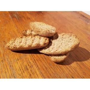 Speltines D'épeautre Bio( petits pain grillé type krisprolls). Les 250g