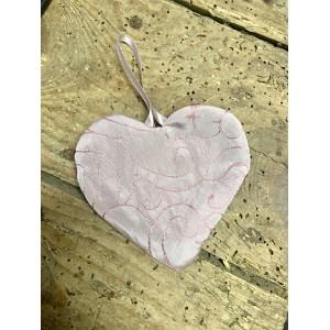Petit Coeur rose pâle