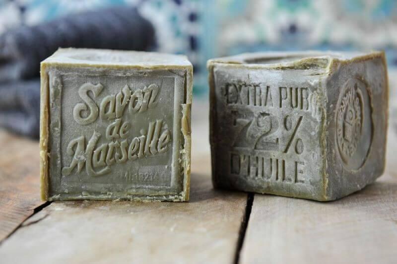 Cube Savon de Marseille Vert. 300g