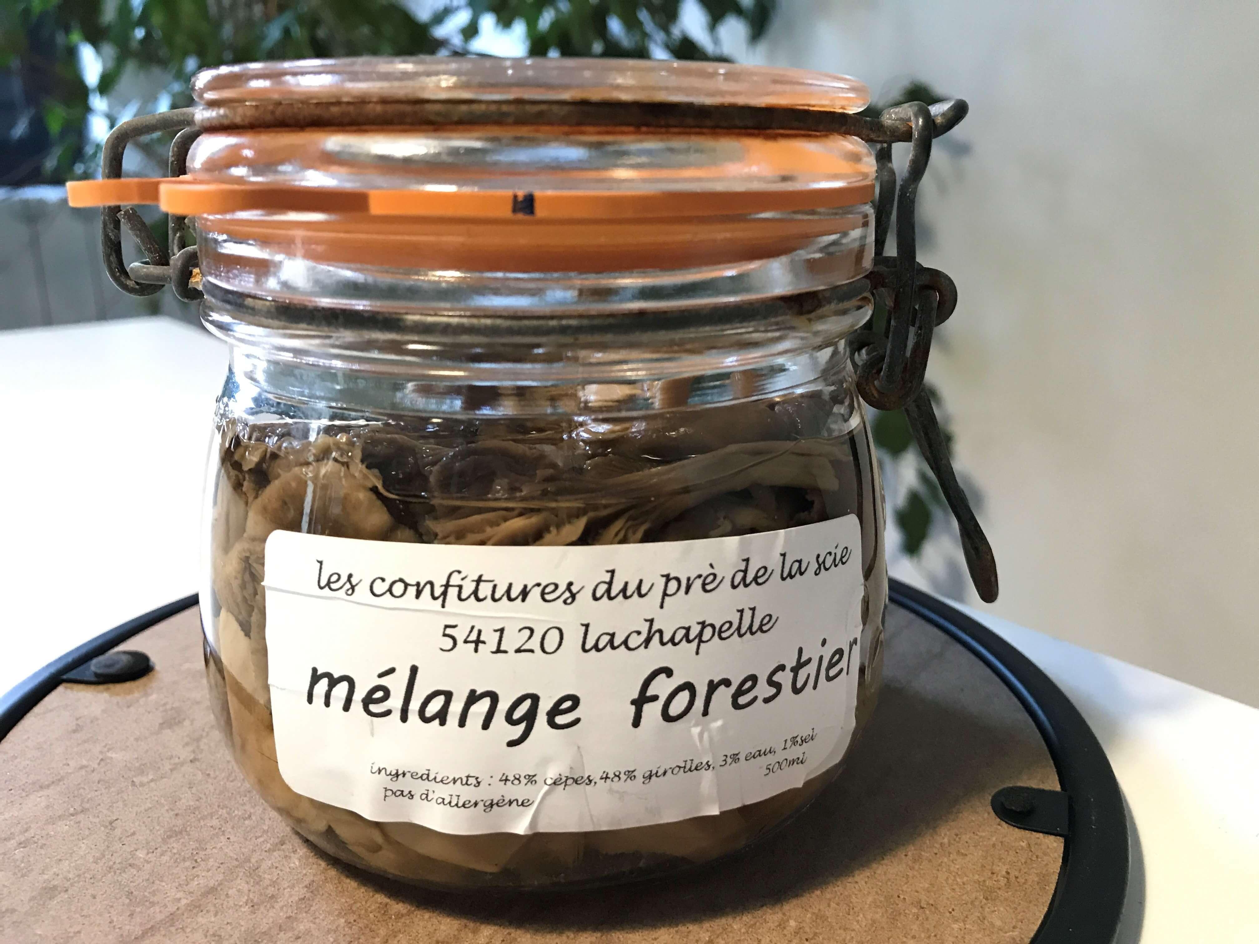 Champignons. Mélange Forestier