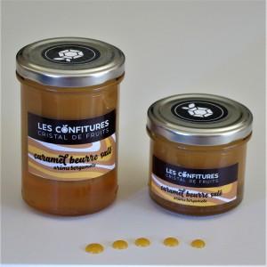 Caramel au beurre salé arôme Bergamote. 130g ou 240g