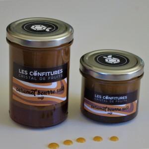 Caramel au beurre salé arôme Café. 130g ou 240g