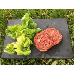 Lot de 8 steaks hachés congélés Pur boeuf