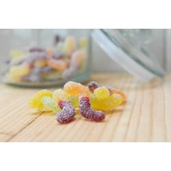 Bonbons Vers Acidulés Bio. Les 100g