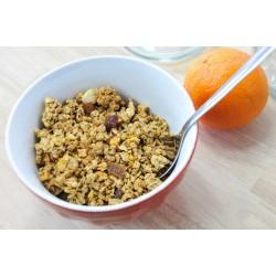 Céréales Krounchy Fruits Bio. Les 250g