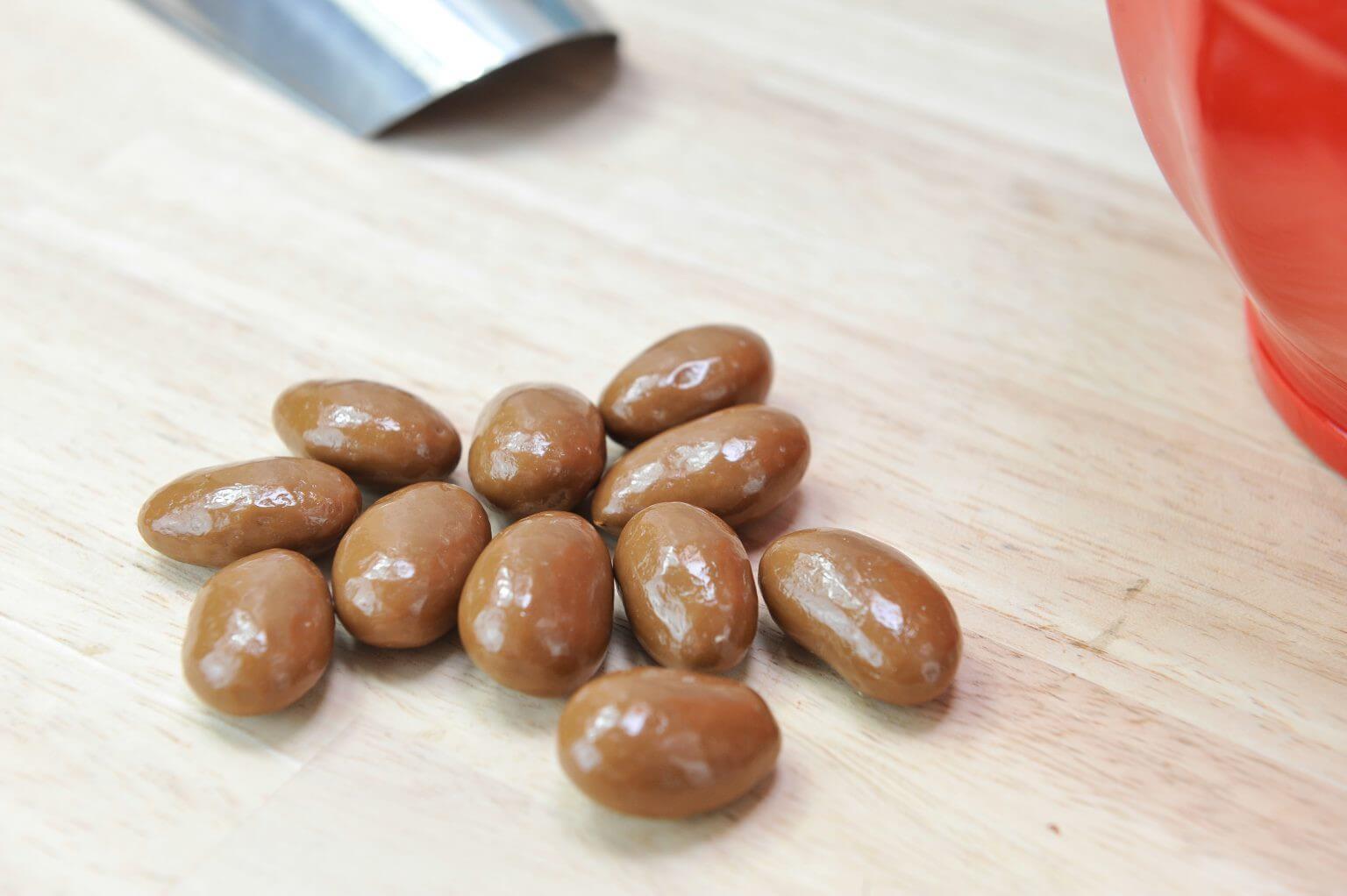 Amandes grillées Chocolat Lait