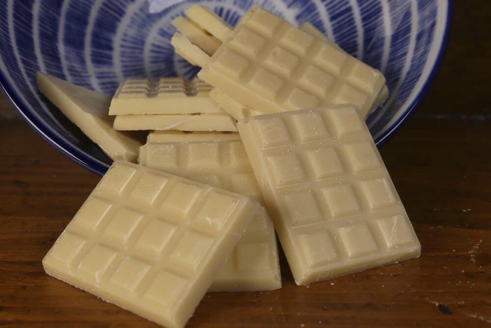 Mini Tablette Chocolat Blanc