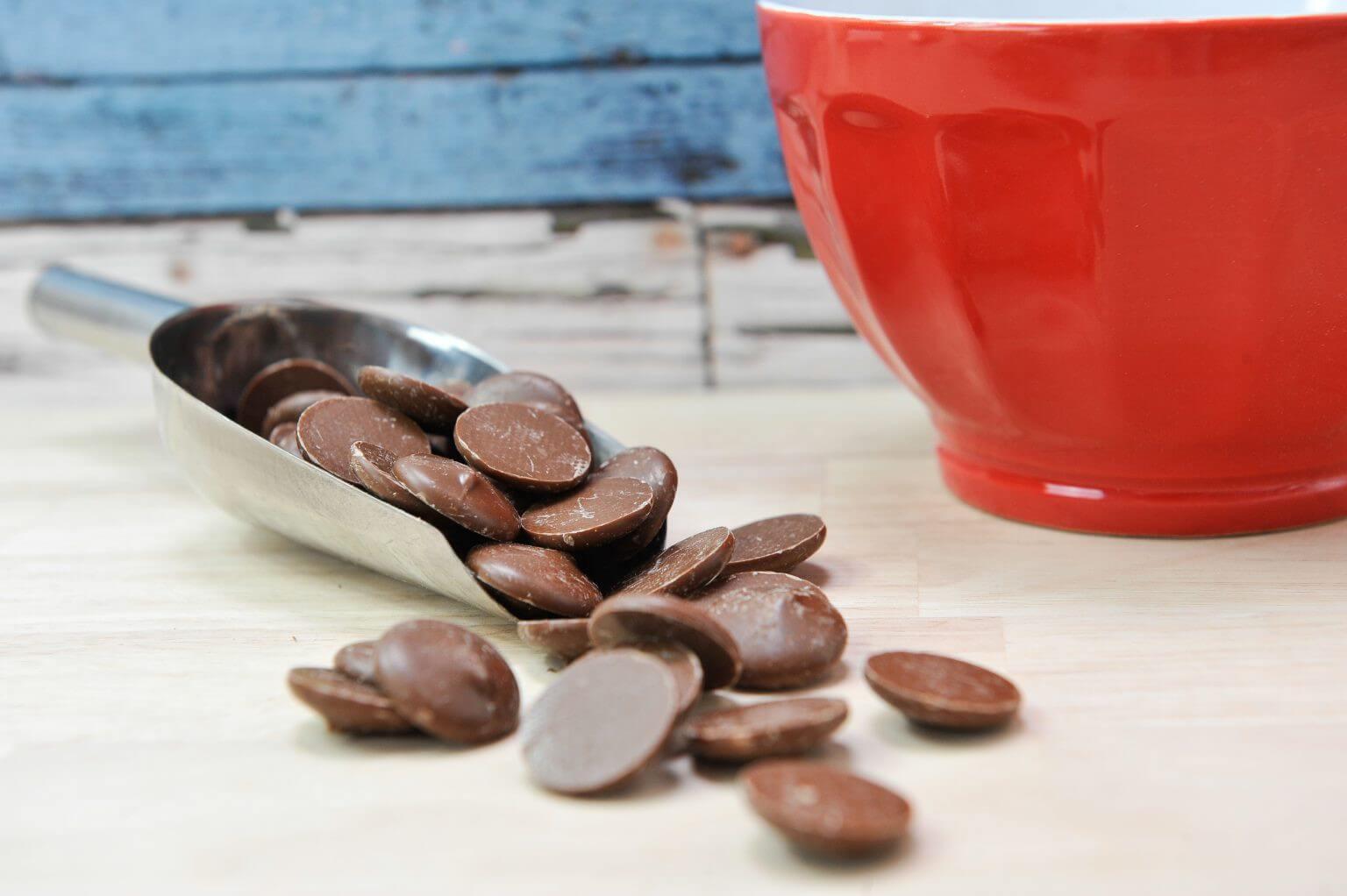 Pistoles Chocolat Lait Caramel 35%