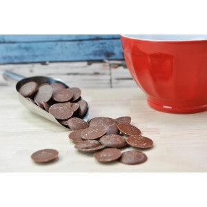 Pistoles Chocolat Noisette. Les 100g