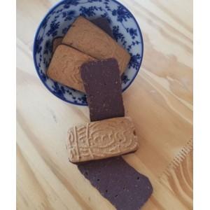 Gâteaux « Spéculos Petit Epeautre Chocolat » Bio. Les 50g