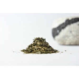 Thé Vert « Fraise Rhubarbe » Les 50g