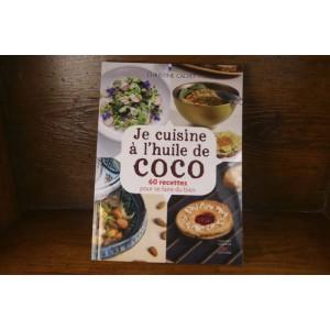 Livre « Je cuisine à l'huile de coco »
