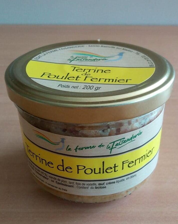 Terrines de Poulet Fermier