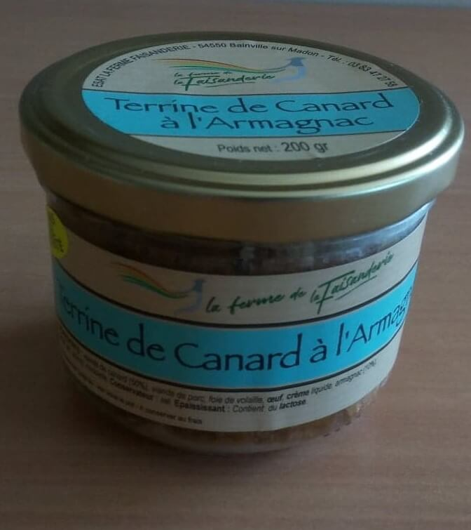 Terrines de Canard à l'Armagnac