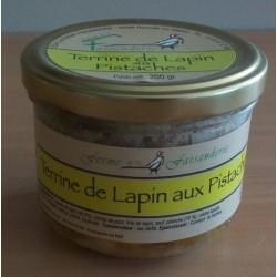 Terrine de lapin aux pistaches