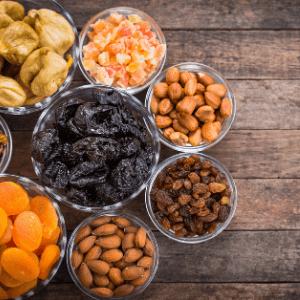 Fruits secs et à coques